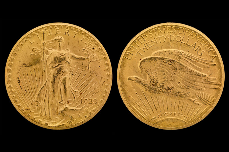 money facts illegal money to have 1933 $20 Gold