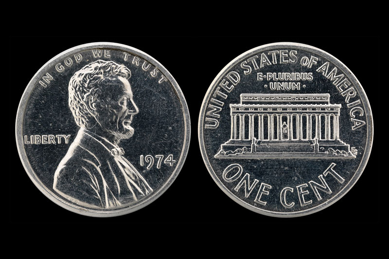 1974 1c (Aluminum)