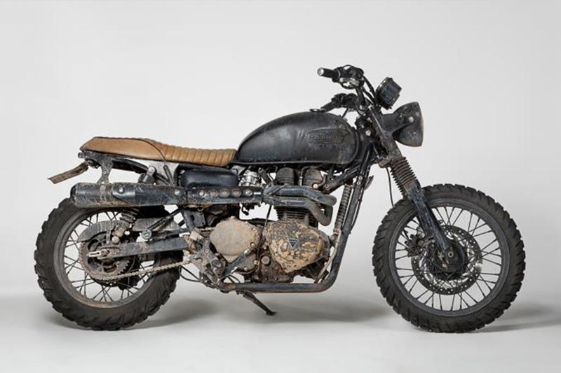 David Beckham's Harley Davidson