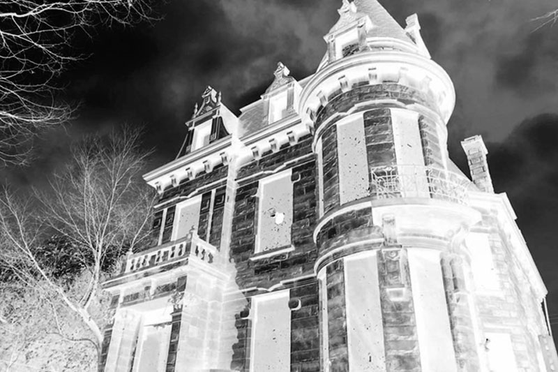 most haunted places in America Franklin Castle