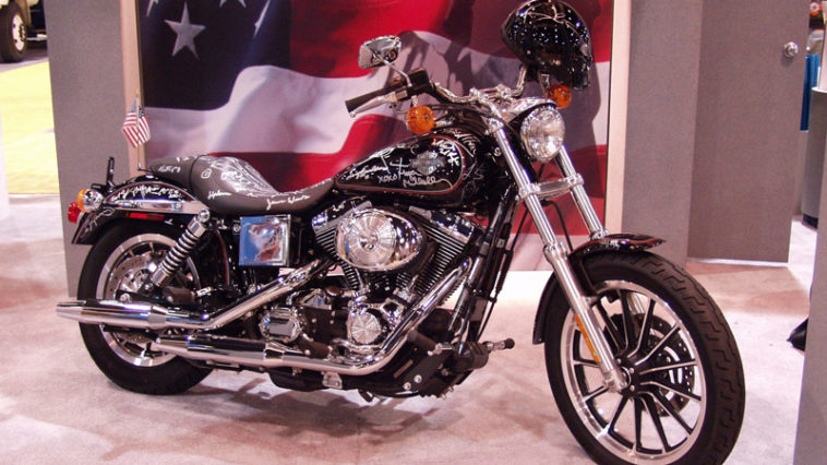 Jay Leno Harley Davidson Auctioned for 9 11 Family Victim