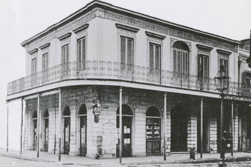 Lalaurie Mansion most hunted places in us