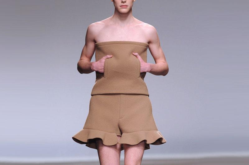 Men sentenced to wear dresses