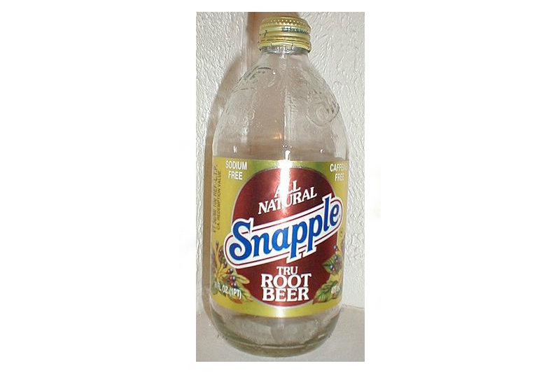 Snapple Tru Root Beer