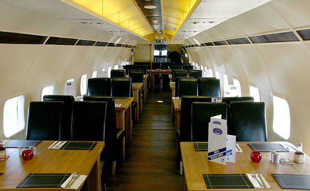 Interesting Restaurants Airplane Restaurant, England