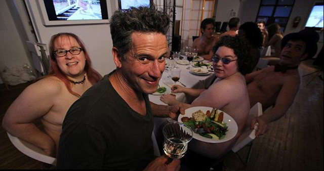 Interesting Restaurants In The World Clothing Optional Dinners, New York