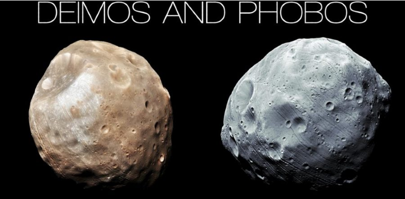 Facts about Mars - Deimos and Phobos