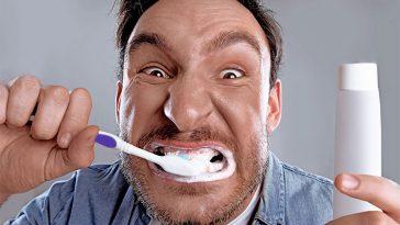 Beware of Brushing Teeth Too Long or Too Vigorously