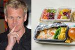 Gordon Ramsay won't eat airplane food