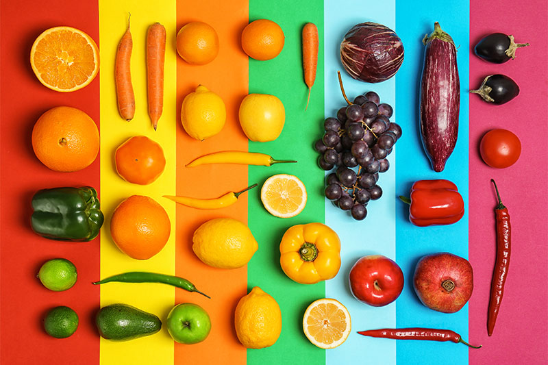 """What """"Eating the Rainbow"""" Actually Does for Your Body, Color by Color"""