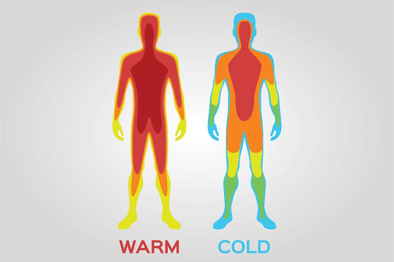 Your Temperature Slowly Rises