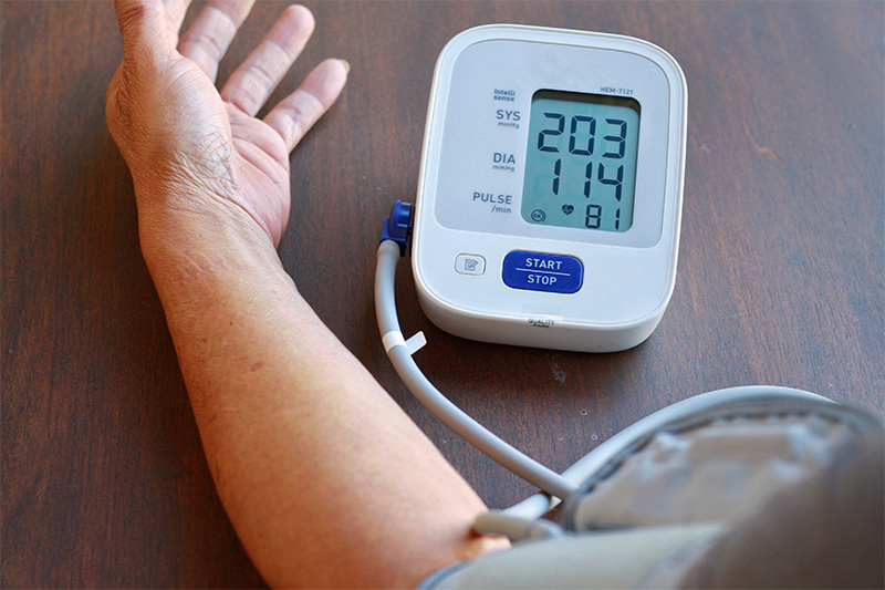 What does high blood pressure in the morning mean?