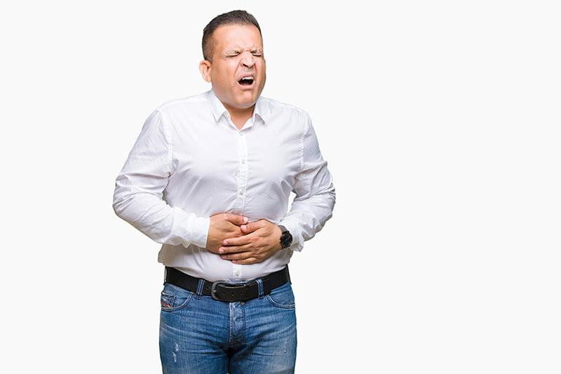 Regular indigestion stomach
