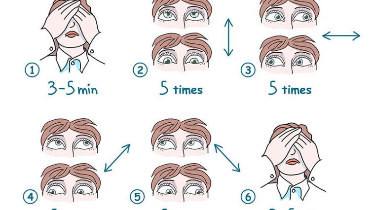 10 Simple and Relaxing Exercises for Your Eyes