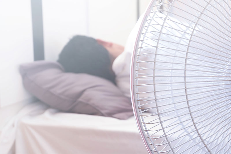 Sleeping With A Fan On Might Be Bad For You And Here Is Why