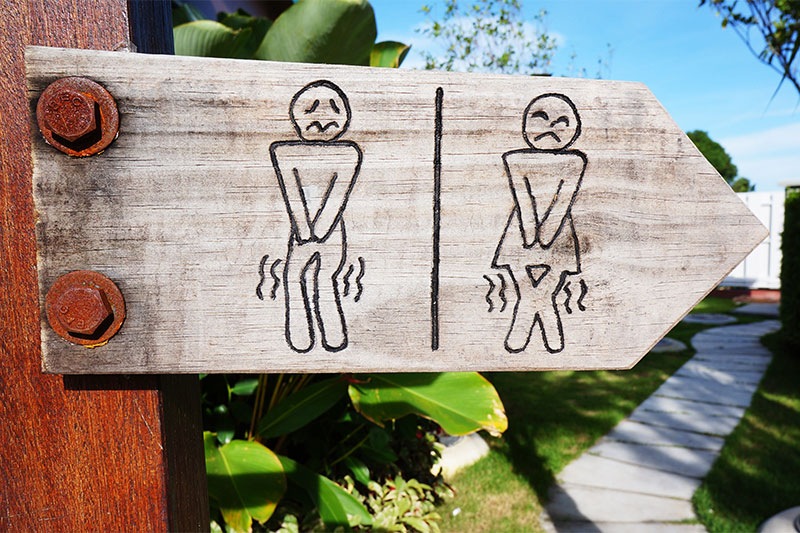 Do your business and leave public toilets