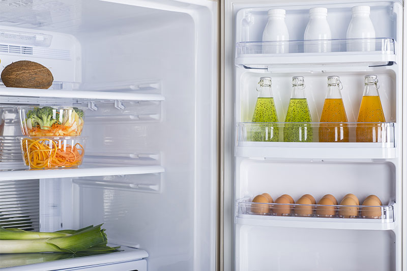 Prompt Refrigeration open fridge