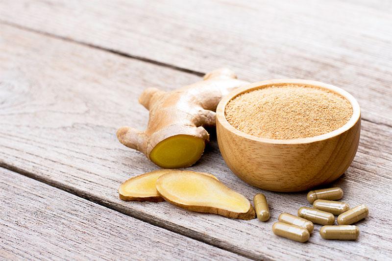 Take Ginger Supplements