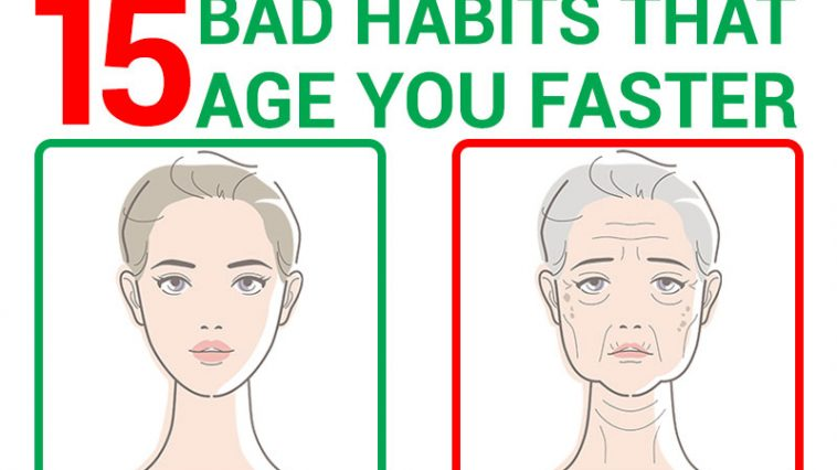 15 Bad Habits That Age You Faster Without You Noticing It