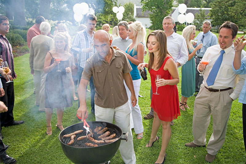 Not Being Careful At Large Outdoor Gatherings