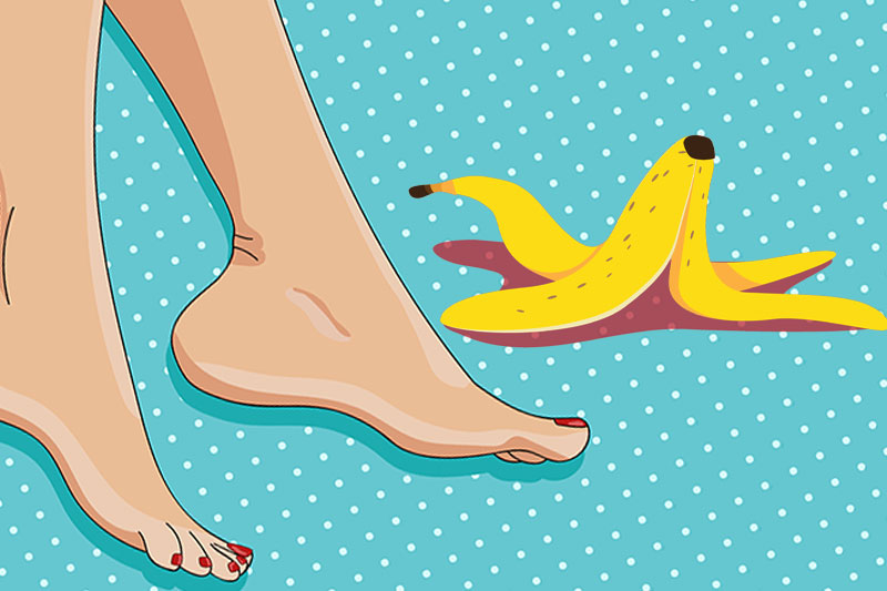 Tie a Banana Peel for 7 Days and See What Happens To Your Body