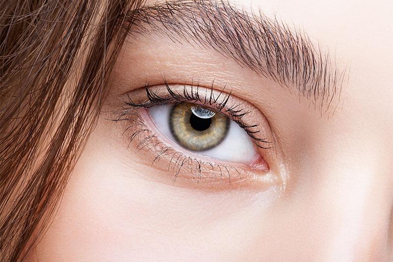 Hazel eyes are unique