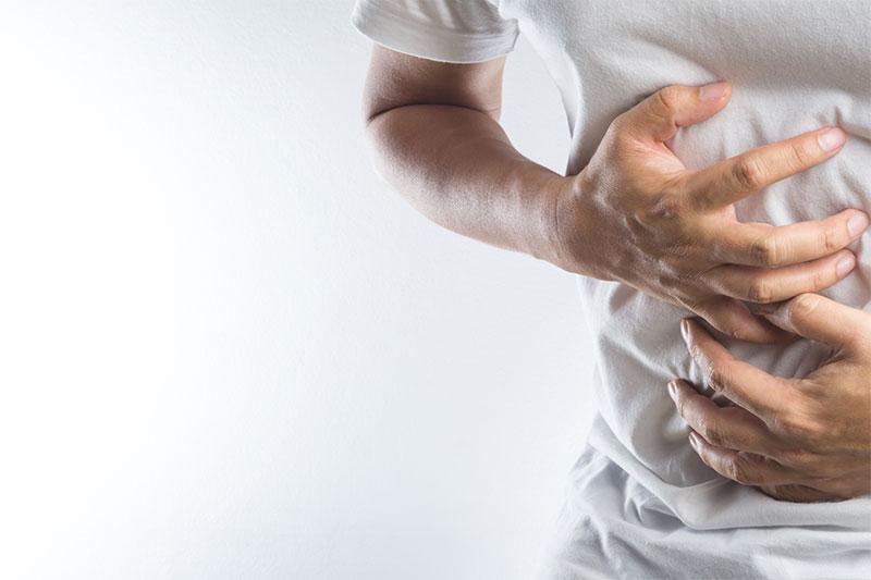 pain in the abdomen