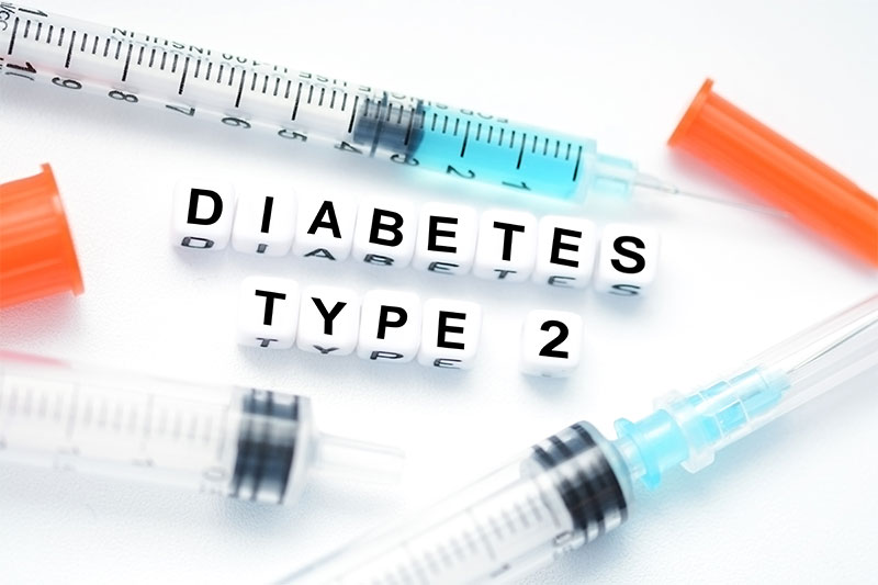 Risk of developing diabetes