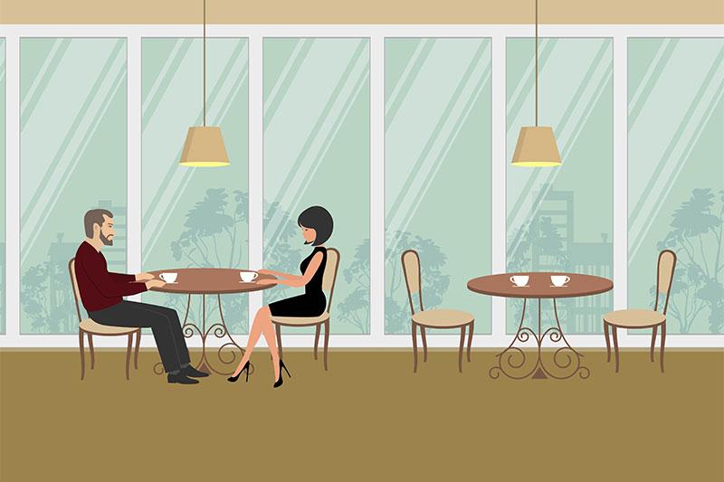 restaurant sit wherever you like