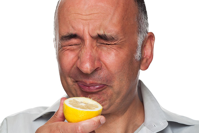 Why Sour Foods Make Your Lips Pucker