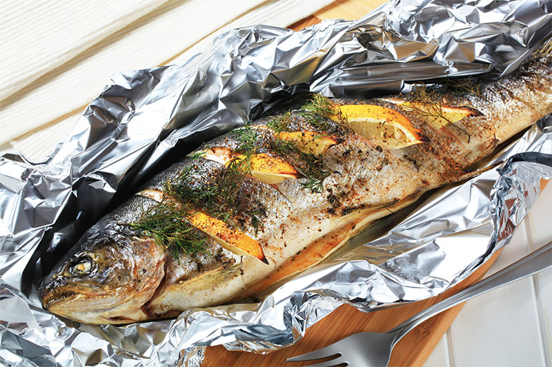 It Helps Some Food Bake To Perfection fish
